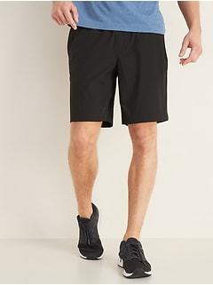 Go-Dry Shade Hybrid Jogger Shorts for Men -- 9-inch inseam