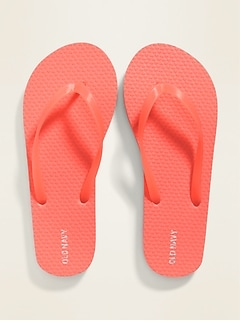Pop-Color Flip-Flops for Kids