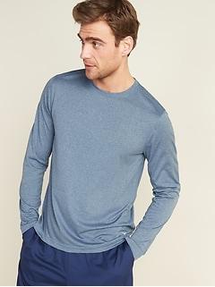 T-shirt Core Go-Dry Cool à contrôle des odeurs à manches longues pour homme