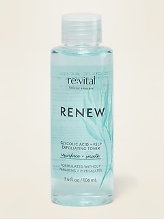 Lotion tonique exfoliante Renew acide glycolique + varech re:vital