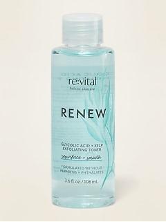 re:vital  Renew Glycolic Acid + Kelp Exfoliating Toner