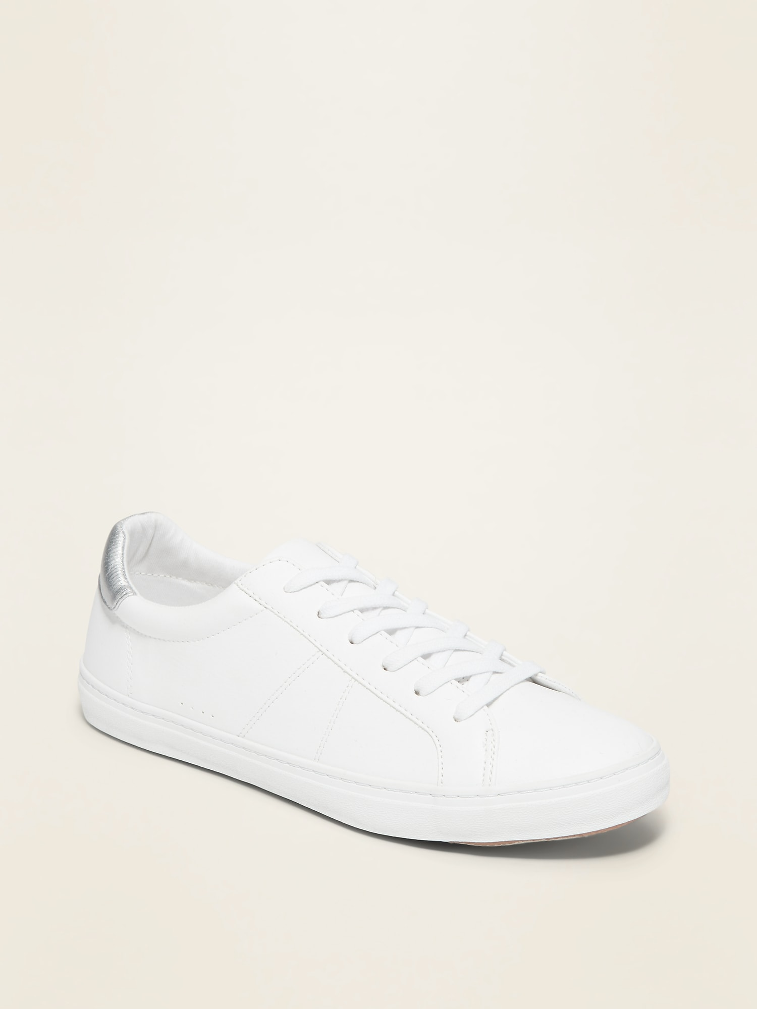 Faux-Leather Sneakers for Women   Old Navy