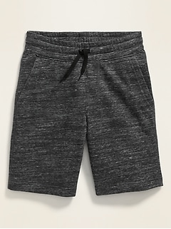 Drawstring-Waist Jogger Shorts for Boys
