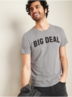 Graphic Short-Sleeve Tee for Men