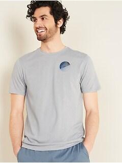 T-shirt à imprimé Go-Dry Cool à contrôle des odeurs pour homme