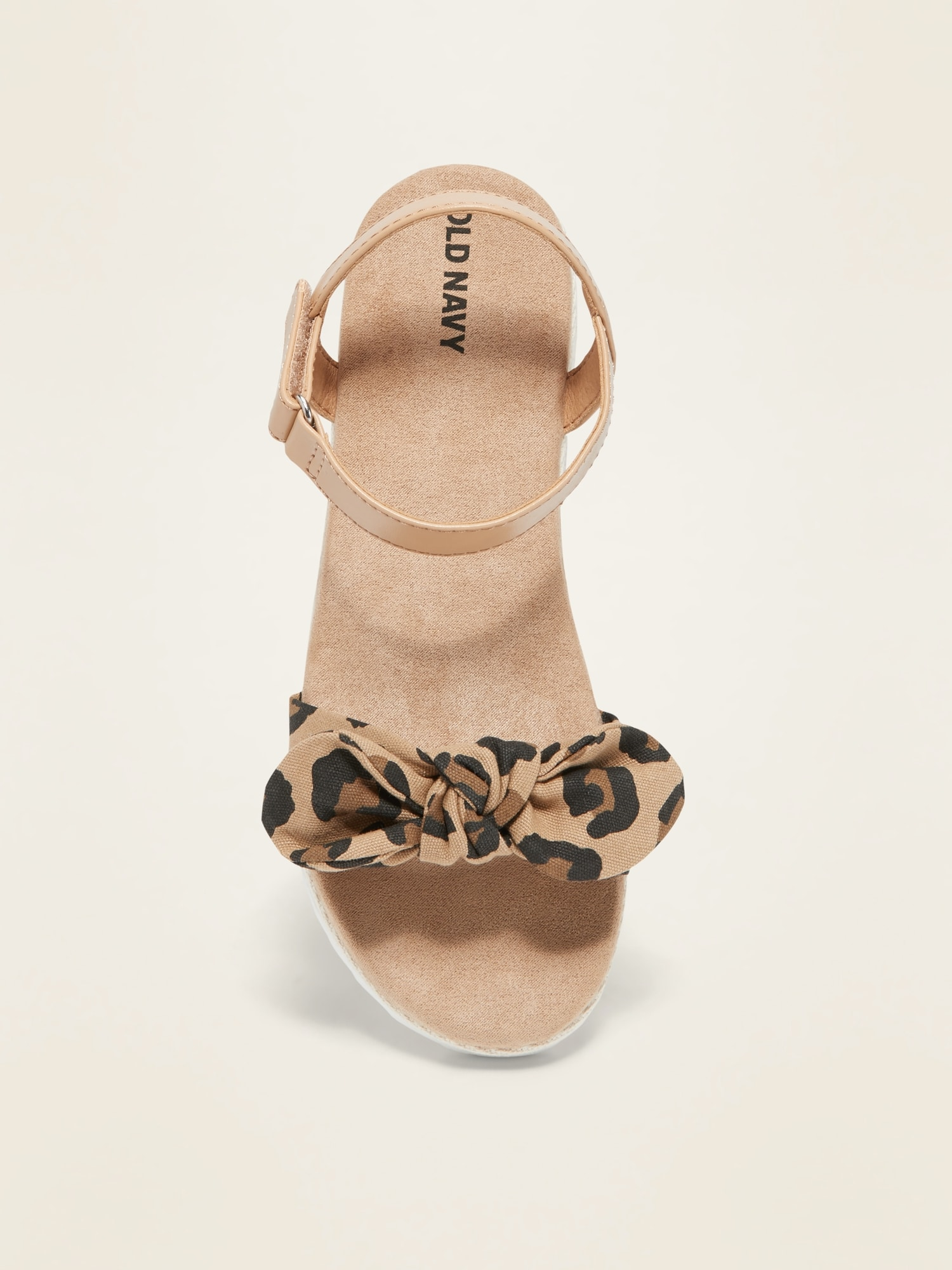 Leopard-Print Bow-Tie Espadrille