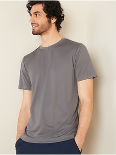 Go-Dry Cool Odor-Control Mesh Core Tee for Men
