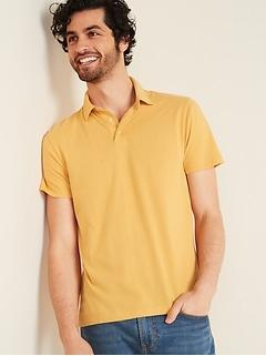 Polo en jersey au fini soyeux pour homme