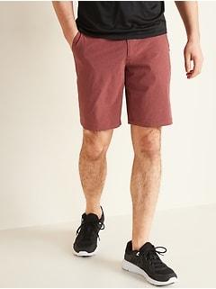 Short étroit performance hybride pour homme, entrejambe de 25cm