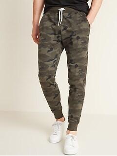 Vintage Camo Gender-Neutral Jogger Sweatpants for Adults