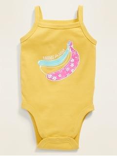 Sleeveless Graphic Bodysuit for Baby