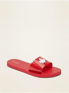 Jelly Flip-Flop Slide Sandals for Women