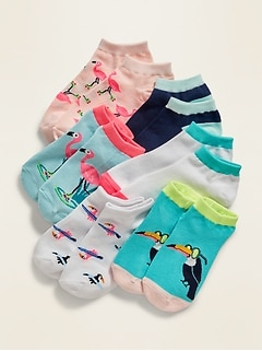 Fashion Socks 6-Pack for Girls