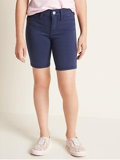 Ballerina 24/7 Uniform Bermuda Jean Shorts for Girls