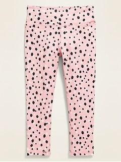 Go-Dry Printed Leggings for Toddler Girls