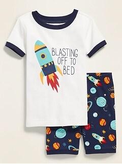 Pyjama «Blasting Off to Bed» pour tout-petit garçon et bébé