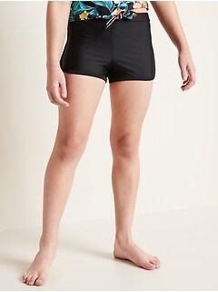 Retro Swim Shorts for Girls