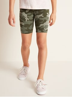 Jersey Biker Shorts for Girls