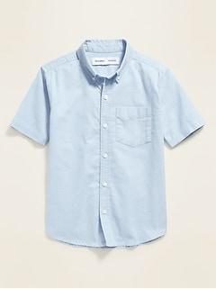 Uniform Oxford Stretch Shirt for Boys