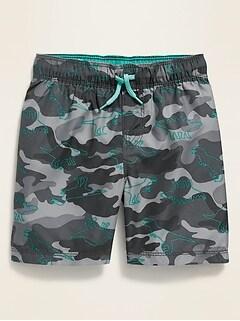 Short de bain à imprimé camouflage pour tout-petit garçon