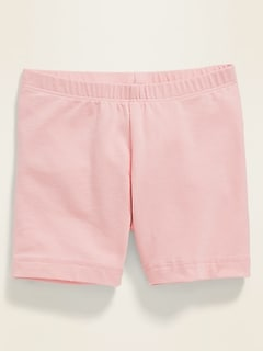 Jersey Bike Shorts for Toddler Girls