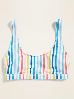 Scoop-Neck Swim Top for Women