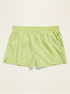 Mid-Rise StretchTech Performance Shorts for Women -- 5-inch inseam