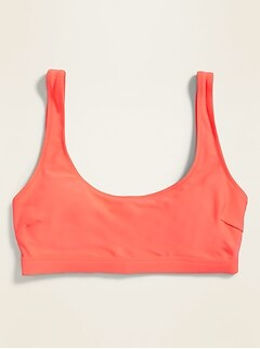 Scoop-Neck Swim Top for Women