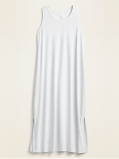 Breathe ON Sleeveless Midi Shift Dress for Women