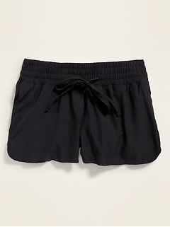 Mid-Rise Board Shorts for Women -- 2.75-inch inseam