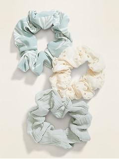 Hair Scrunchie 3-Pack for Women