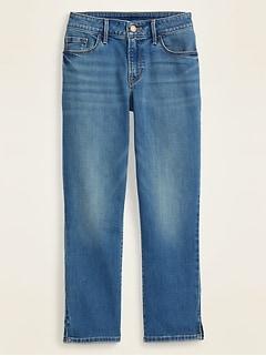 Mid-Rise Skinny Capri Jeans for Women
