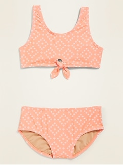 Tie-Front Bikini for Girls