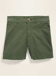 Mid-Rise Everyday Shorts for Women -- 5-inch inseam