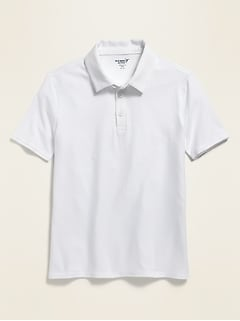 Uniform Short-Sleeve Performance Polo for Boys