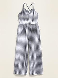 Jersey Smocked-Back Cami Jumpsuit for Girls