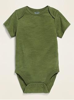 Cache-couches en jersey à manches courtes pour bébé