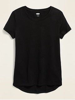 Softest Crew-Neck Tee for Girls