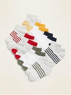 Ankle Socks 8-Pack for Toddler Boys & Baby