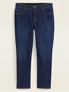 High-Waisted Secret-Slim Pockets + Waistband Power Slim Straight Plus-Size Ankle Jeans
