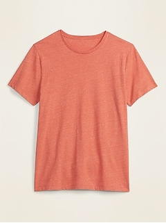T-shirt ras du cou au fini soyeux pour homme