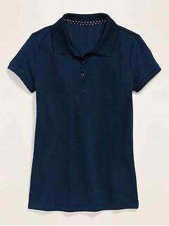 Polo d'uniforme à l'épreuve de l'humidité pour fille