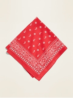 Printed Neckerchief Scarf for Women