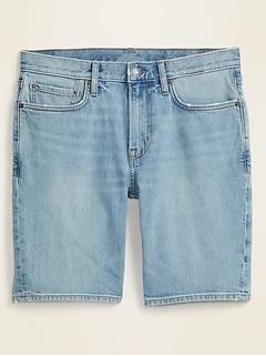 Slim Built-In Flex Jean Shorts for Men -- 9-inch inseam