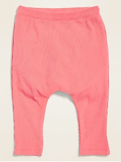 Rib-Knit Pull-On Pants for Baby