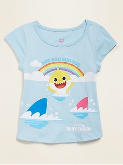 Pinkfong® Baby Shark™ Graphic Tee for Toddler Girls