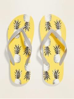 Sandales de plage à imprimé pour homme