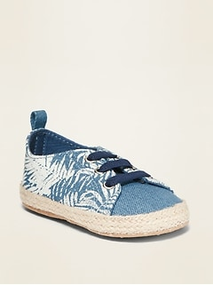 Twill Espadrille Sneakers for Baby