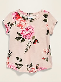 Graphic Short-Sleeve Tee for Baby