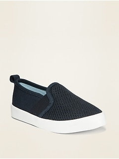 Mesh Unisex Slip-Ons for Toddler